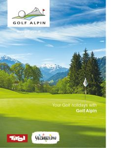 Golf Alpin Brochure