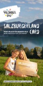 SalzburgerLand Card Folder