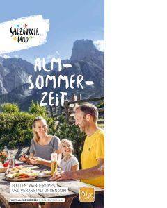 Almsommerzeit - tájékoztató a salzburgi alpesi nyárról