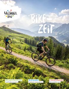 Bikezeit - Salzburg tartomány kiadványa bringás turistáknak