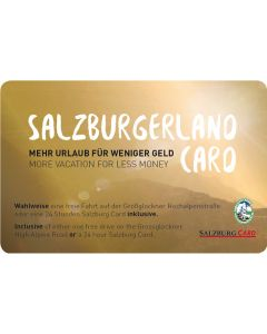 SalzburgerLand Card Kinder
