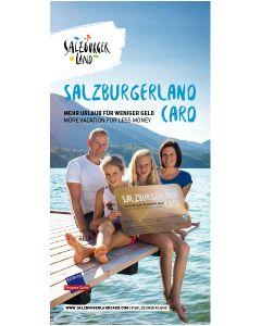 SalzburgerLand Card Broschüre